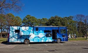Hampton University Vaccine Van