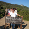 Yaniel Sargeant, a junior public relations major in Cape Town, 